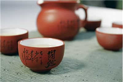 Picture Of Ceramic Cups Of Chinese Tea