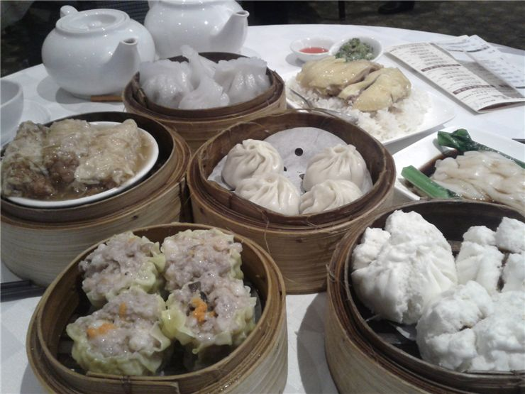Picture Of Chinese Meal Dim Sum