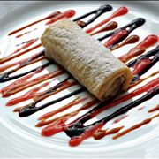 Picture Of Spring Roll Chinese Desert